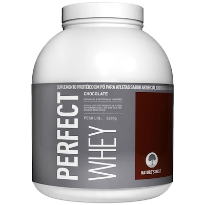 Perfect Whey Protein - 2,272 Kg - Sabor Chocolate - Nature's Best