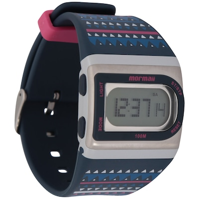 Relógio Feminino Digital Mormaii Troca De Pulseiras Fzg8f