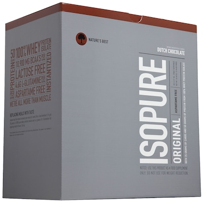 Isopure Packs - 1,740 Kg - Sabor Chocolate - Natures Best