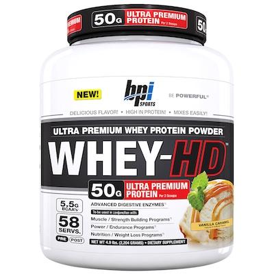 Whey Protein BPI Sports Whey-HD - Baunilha Caramelo - 2,2Kg