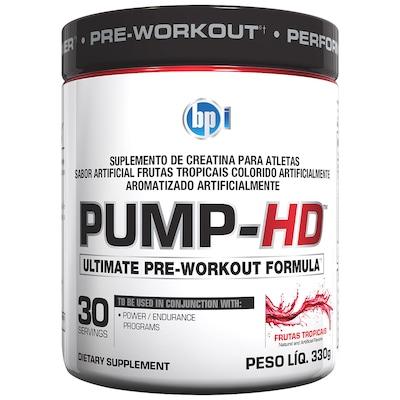 Pré-Treino BPI Sports Pump-HD - Frutas Tropicais - 330g