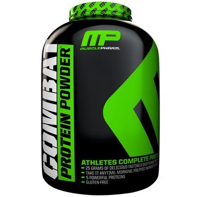 Whey Protein Muscle Pharm Combat Protein Powder - Frutas Vermelhas - 2,26Kg