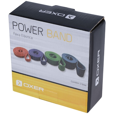 Faixa Elástica Power Band Resistência Grau 3