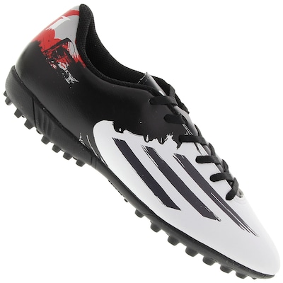 Chuteira do Messi Society adidas F5 TF