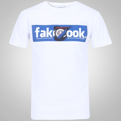 Camiseta New Skate Fake Book - Masculina