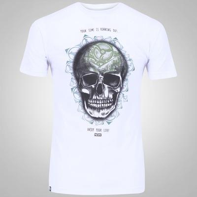 Camiseta New Skate Light Skull - Masculina