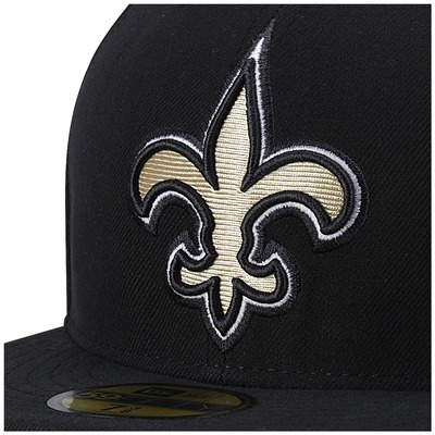 Boné Aba Reta New Era New Orleans Saints NFL - Fechado - Adulto