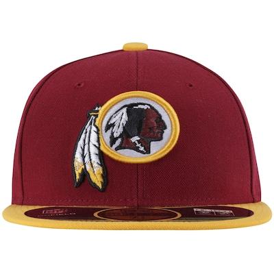 Boné Aba Reta New Era Washington Redskins NFL - Fechado - Adulto