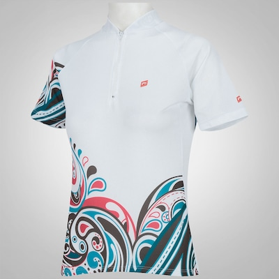 Camisa de Ciclismo Barbedo Floral 2015 - Feminina