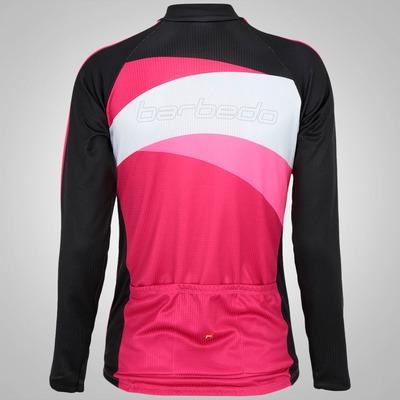Camisa de Ciclismo Manga Longa Barbedo Serena - Feminina