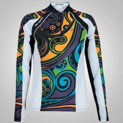 Camisa de Ciclismo Manga Longa Barbedo 2015 - Feminina