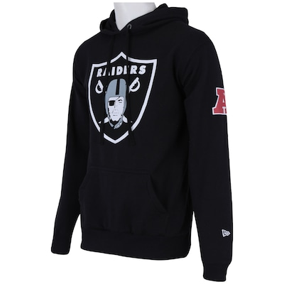 Blusa com Capuz New Era Oakland Raiders – Masculina