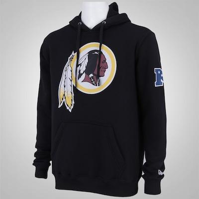 Blusão com Capuz New Era Washington Redskins - Masculino