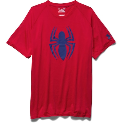 Camiseta Under Armour Spiderman - Masculina