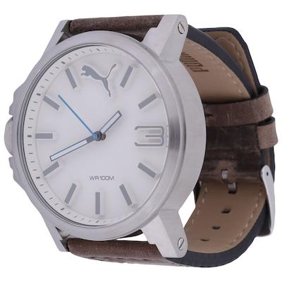 Relógio Masculino Analógico Puma 96239G0 - Pulseira de Couro