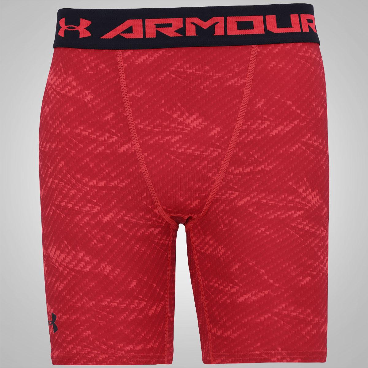 Bermuda de Compressão Under Armour HG Printed - Masculina
