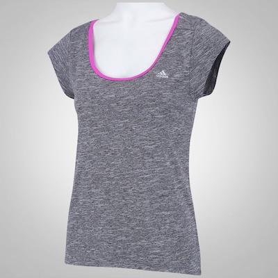 Camiseta adidas Clima Mescla - Feminina