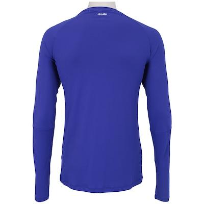 Camiseta Manga Longa adidas 3S Poliamida – Masculina
