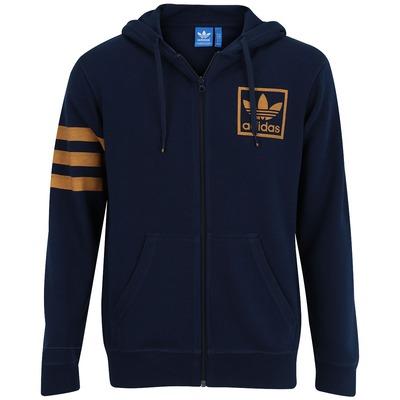 Jaqueta adidas com Capuz 3 Foil FZ Hoody - Masculina