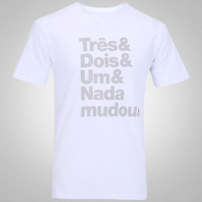 Camiseta Reserva Nada Mudou - Masculina