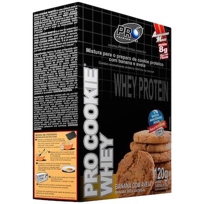 Pro Cookie Whey Probiótica - Cx 3 Sachês de 40g cada - Banana - 120g