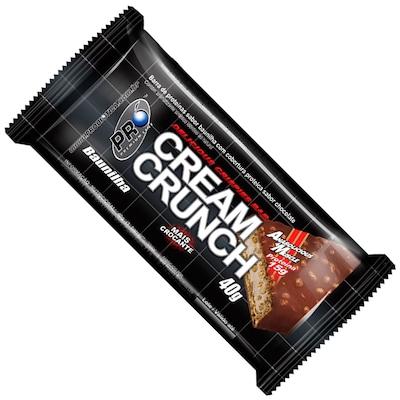 Barra de Proteína Probiótica Cream Crunch - 12 Unidades - Sabor Baunilha