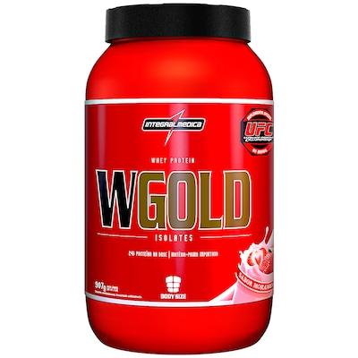 Whey Protein Integralmédica WGold Isolates - Morango - 907g