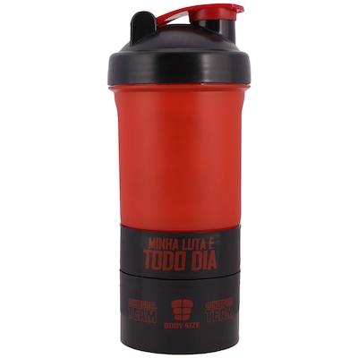 Coqueteleira Integralmédica Shaker Body Size - 400ml - 3 Doses