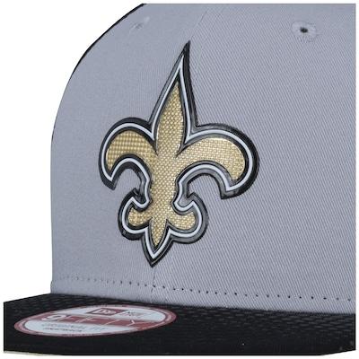 Boné Aba Reta New Era 9FIFTY New Orleans Saints NFL Original Fit - Snapback - Adulto