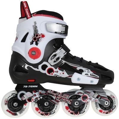 Patins Oxer CR317 - In Line - Freestyle / Slalom - ABEC 7 - Base de Alumínio