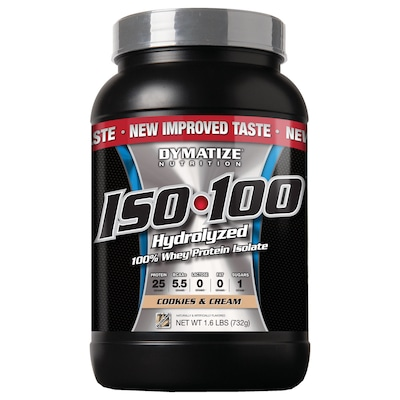 ISO 100 – 732 g – Sabor Cookies and Cream – Dymatize Nutrition
