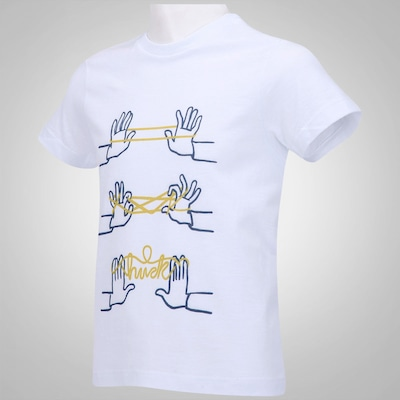 Camiseta Huck Barbante - Infantil