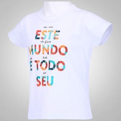 Camiseta Huck Este Mundo - Infantil