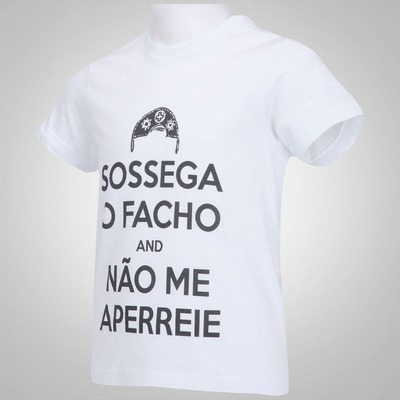 Camiseta Huck Sossega o Facho - Infantil