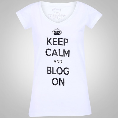 Camiseta Huck Keep Calm - Feminina