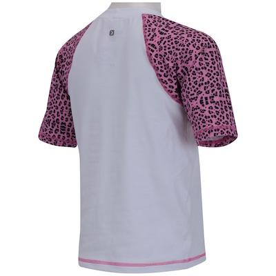 Camiseta Oxer Cutie Uv50+ Feminina - Infantil
