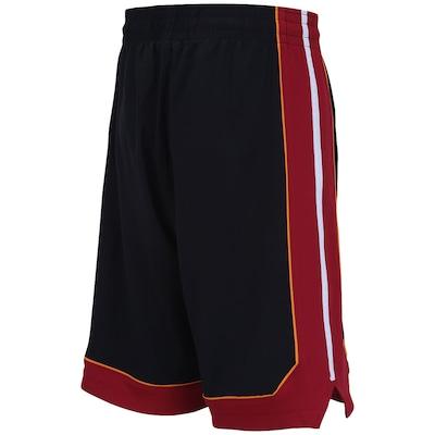 Bermuda adidas Swingman Miami Heat - Masculina