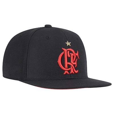 Boné Aba Reta adidas Flamengo Hino 2015 - Snapback - Adulto