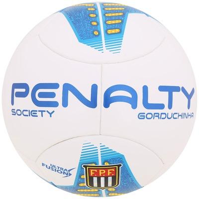 Bola de Futebol Society Penalty Gorduchinha Ultra Fusion V