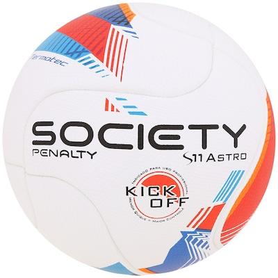 Bola de Futebol Society Penalty S11 Astro Kick Of V