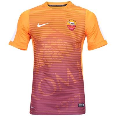 Camisa Pré-Jogo do Roma Nike