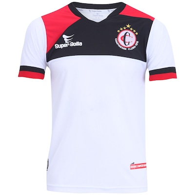 Camisa do Campinense II 2015 nº 10 Super Bolla