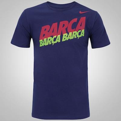 Camiseta Barcelona Nike - Masculina
