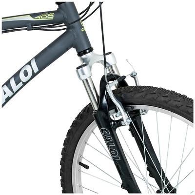 Bicicleta Caloi 400 - Aro 26 - Freio V-Brake - Câmbio Traseiro Shimano - 21 Marchas