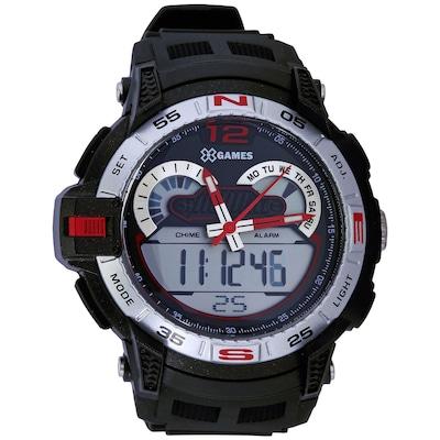 Relógio Masculino Analógico e Digital X - Games XMPPA146