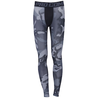Calça de Compressão Nike Hypercool Woodlan - Masculina