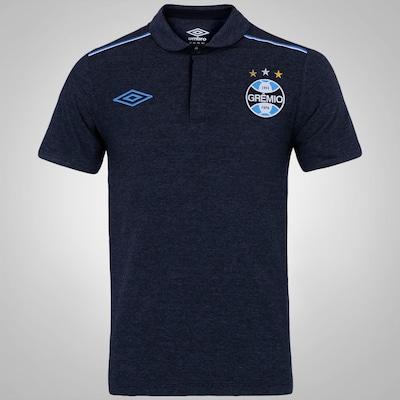 Camisa Polo de Viagem Umbro Grêmio 15 - Masculina