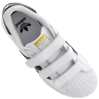 Tênis adidas Superstar Foundation CF - Infantil