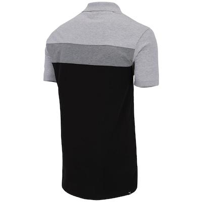 Camisa Polo Puma Fun Big Block Pique – Masculina