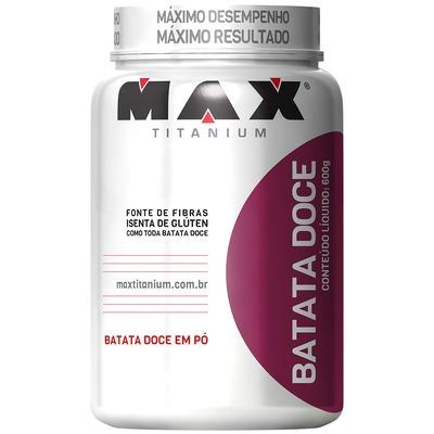 Batata-Doce em Pó - 600 g - Max Titanium